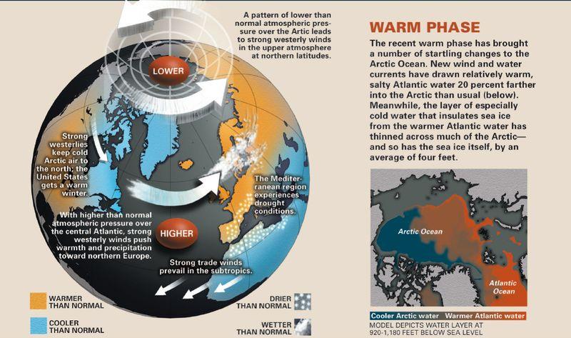 AO warm phase