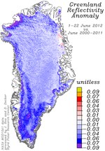 Greenland_reflectivity_anomaly_1-22June_2012_vs_June_2000-2011