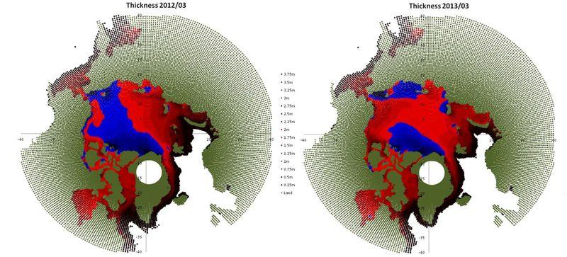 Thickness-comparison WA2013-PIOMAS