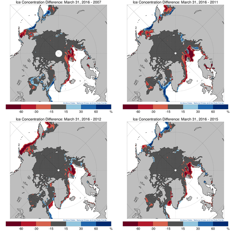 Ice concentration comparison March 31